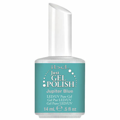 IBD Just Gel UV LED Gel Nail Polish JUPITER BLUE #56522