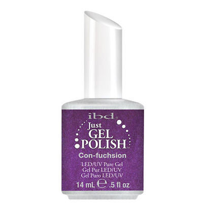 IBD Just Gel UV LED Gel Nail Polish Con-fuchsion 56525