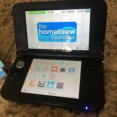 NINTENDO NEW 3DS XL MODDED CFW with 200+ Games 64gb! - $210 00