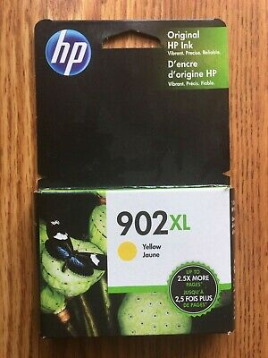 NEW Genuine OEM HP 902XL Yellow Ink Cartridge Exp. Oct 2020 T6M10AN Hewlett Pack