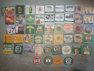 49 Different  VICTORIA BITTER ./ Brewery  Issue collectable COASTERS