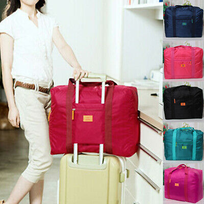 AU Portable Foldable Luggage Travel Baggage Durable Storage Carry on Duffle Bag
