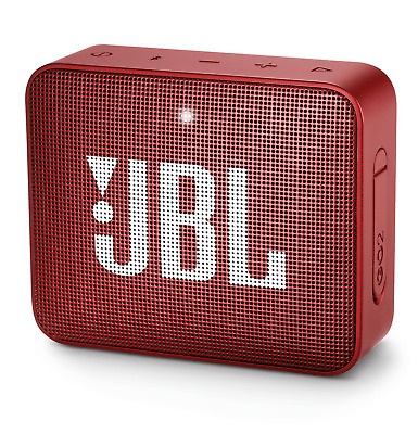 Jbl Go2 Bluetooth Speaker Cassa Usb Aux In Musica Diffusore Audio Portatile Red