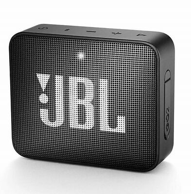 Jbl Go2 Bluetooth Speaker Cassa Usb Aux In Musica Diffusore Audio Portatile Nero