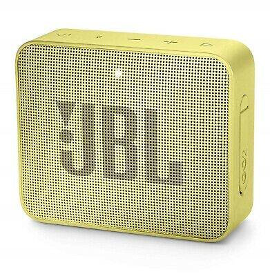 Jbl Go2 Bluetooth Speaker Cassa Usb Aux In Musica Diffusore Audio Portatile Yllw