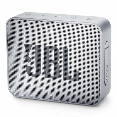 Jbl Go2 Bluetooth Speaker Cassa Usb Aux In Musica Diffusore Audio Portatile Grey
