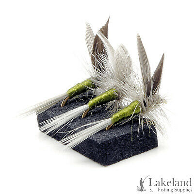 3, 6 or 12x Blue Winged Olive Dry Trout Flies for Fly Fishing