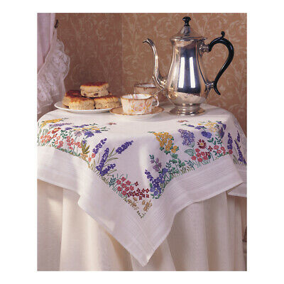ANCHOR | Embroidery Kit: Spring Flower - Tablecloth | ETW08