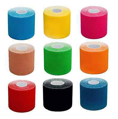 5m*5cm Kinesiology Tape Elastic Sport Physio Muscle Strain Injury Support