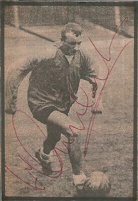 Football Autograph Mike Summerbee Manchester City Signed Newspaper Photo F1474