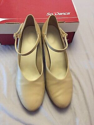 So Danca Nude buckle strap character shoes. UK Size 6.5. Used