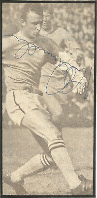Football Autograph Mike Summerbee Manchester City Signed Magazine Photo F1479