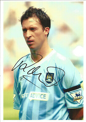 Football Autograph Robbie Fowler Manchester City Signed Photograph F1490