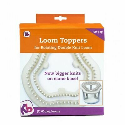 KB Knitting Board Loom Toppers for Rotating Double Knit Loom