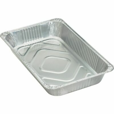 Genuine Joe Full-size Disposable Aluminum Pan - 8.8 quart Pan - Aluminum - Cooki