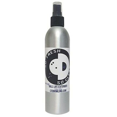 NEW CTD So Fresh So Clean Bowling Ball Life Extender/Cleaner, 8oz Bottle