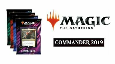 MAGIC THE GATHERING COMMANDER ANTHOLOGY SEALED 3X DECKS - - Plunder