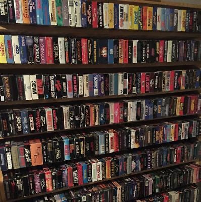 VHS VIDEOS LOT OF 25 TAPES OF YOUR CHOICE $29.99 -- YOU CHOOSE FROM 1000s