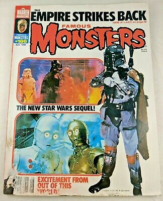 Famous Monsters of Filmland #166 - August 1980 Empire Strikes Back Low Grade