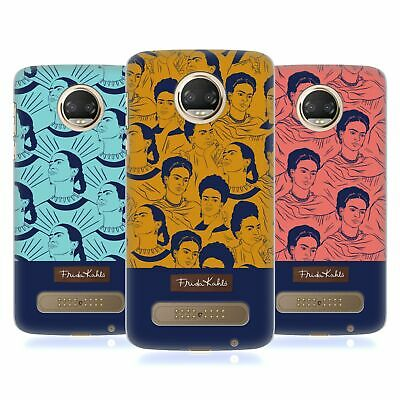 Official Frida Kahlo Portrait Patterns Hard Back Case For Motorola Phones 1