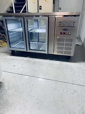 Commercial Under Counter Refrigerator Prep Bench Work Top Island