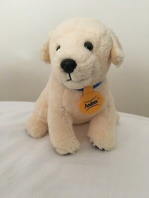 """6"""" Soft Plush Toy Pet Dog - Andrex Puppy Cuddly Stuffed Toy - VGC Very Cute"""
