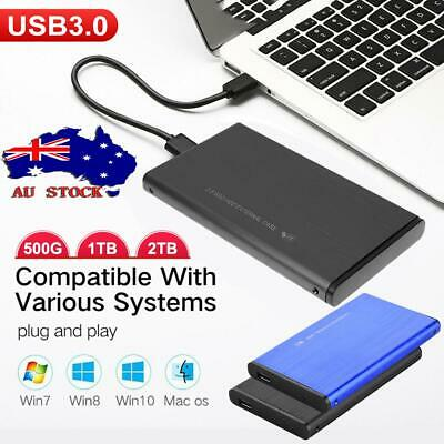 "2.5"" External Hard Drive USB 3.0 1TB 2TB SATA3.0 SSD Portable Mobile Hard Disk"
