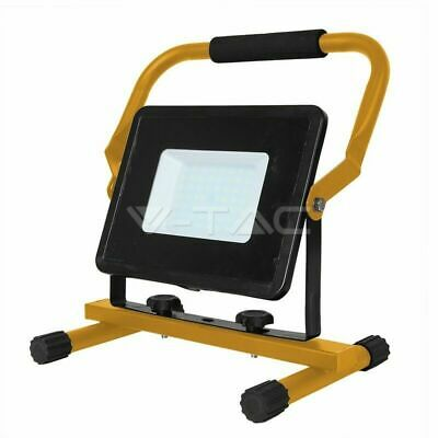 50w LED Light Work Lamp 240v Floodlight Not Rechargeable Portable 3m Cable