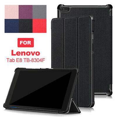 """For Lenovo Tab E8 TB-8304F 8"""" inch Tri-Fold Leather Thin Stand Cover Tablet Case"""