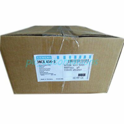 New Siemens 3NC8434-3 500A 660V gR 3NC8434-0C / 3NC8444-3C 1 year warranty
