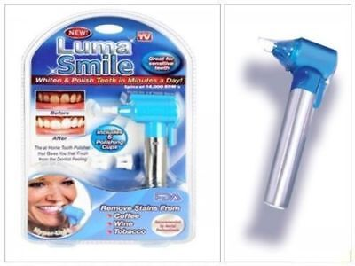 Teeth Polisher Stain Remover Tea Coffee Tobacco Dentist Whitening Tooth DM