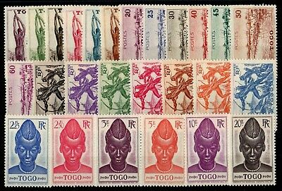 TOGO: SERIE COMPLETE DE 26 TIMBRES NEUF** N°182/207 Cote: 21,00 €