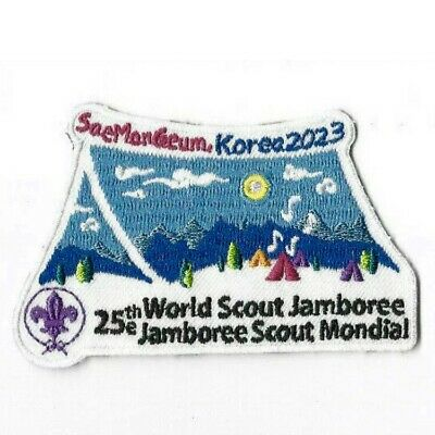 2019 World Scout Jamboree Korea 2023 Promotion Patch :: New, Mint - Rare Patch