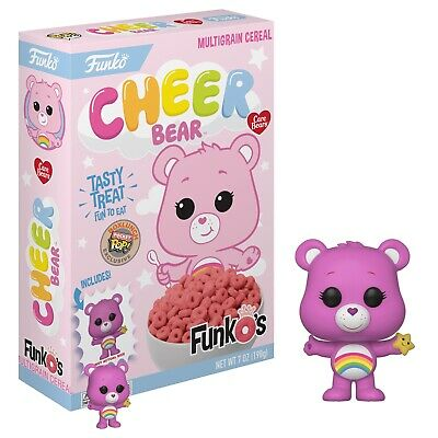 NEW Sealed Box Funko Pop FunkO's Cereal Pocket Pop! Care Bear Cheer Exclusive