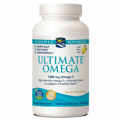 Ultimate Omega 120 CT 1000 MG von Nordic Naturals