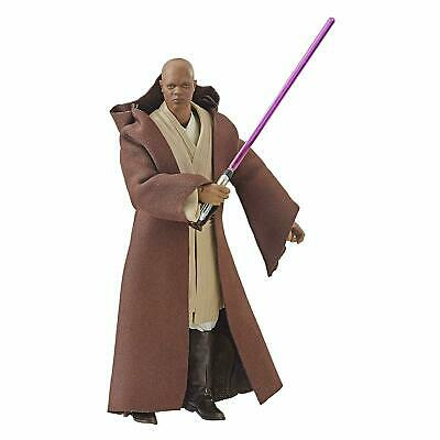 Star Wars The Black Series Mace Windu 6 Inch Action Figure LOOSE