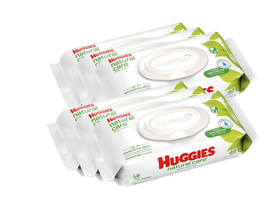 *HOT* HUGGIES Natural Care Unscented Baby Wipes (288 Total Wipes), Free shipping