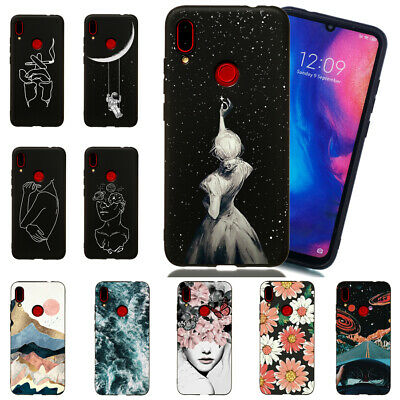 For Xiaomi Redmi K20 Note 7 6 5 Pro Soft Silicone Matte Painted TPU Case Cover