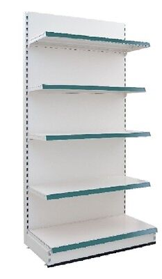 New RETAIL DISPLAY SHELVING | SUPERMARKET SHELVING  -2 METRES HIGH -5 SHELVES