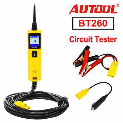 Autool BT-260 Electrical System OBD2 Diagnostic Tool Car Battery Circuit Tester