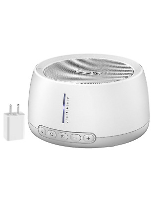 【Upgrated Version】 White Noise Machine, Pictek Sound Machine for Baby Adult with