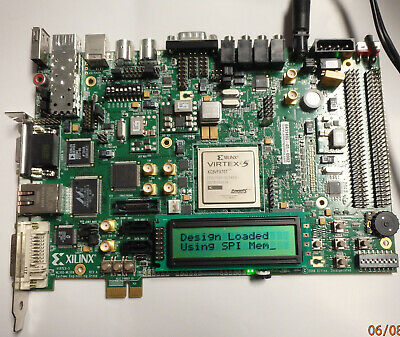 BRAND NEW XILINX XUPV5-LX110T Evaluation Platform Virtex-5