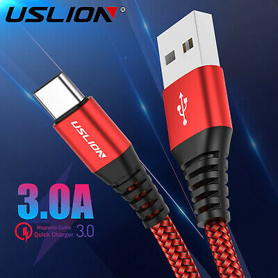 3A Fast Charger Cable Type C Micro USB Charging Cord For Samsung Huawei Android