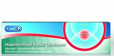 Care Haemorrhoid Relief Piles Ointment 25g | Relieves the pain and irritation