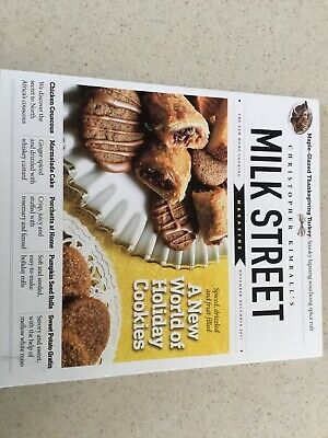 Milk Street Magazine by Christopher Kimball ~ November- December 2017 Holiday