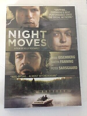 Night Moves (DVD, 2014)     Jesse Eisenberg, Dakota Fanning, Peter Sarsgaard