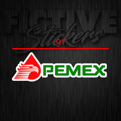 Pemex Sticker Decal 12 inch RED **FREE SHIPPING**