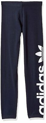 adidas Originals Girls Leggings Legend Ink/White BR8101