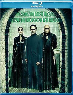 The Matrix Reloaded [Blu-ray] DVD, Keanu Reeves, Laurence Fishburne, Carrie-Anne