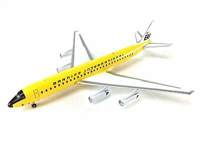 Airplane Model Braniff International McDonnell-Douglas DC-8-62 Girard Panagra Ye
